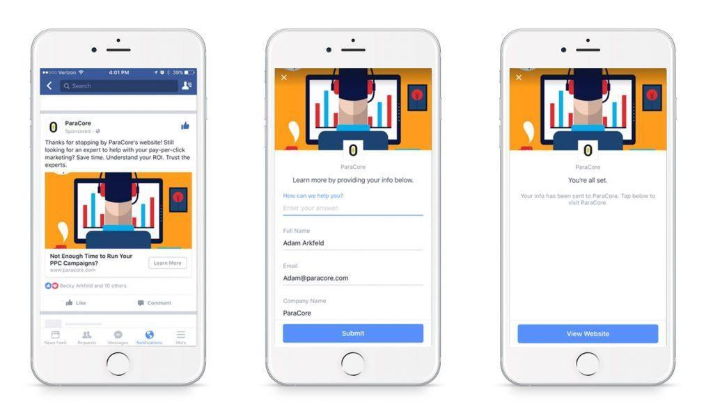 Run Facebook Leads Ads with Constant Contact