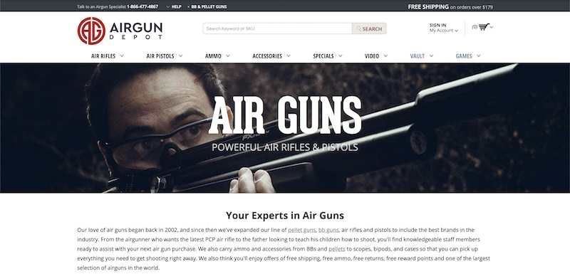 air guns affiliate program