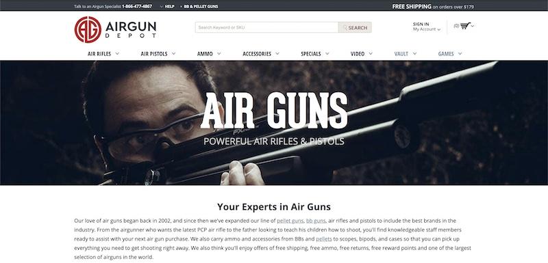 air guns affiliate program
