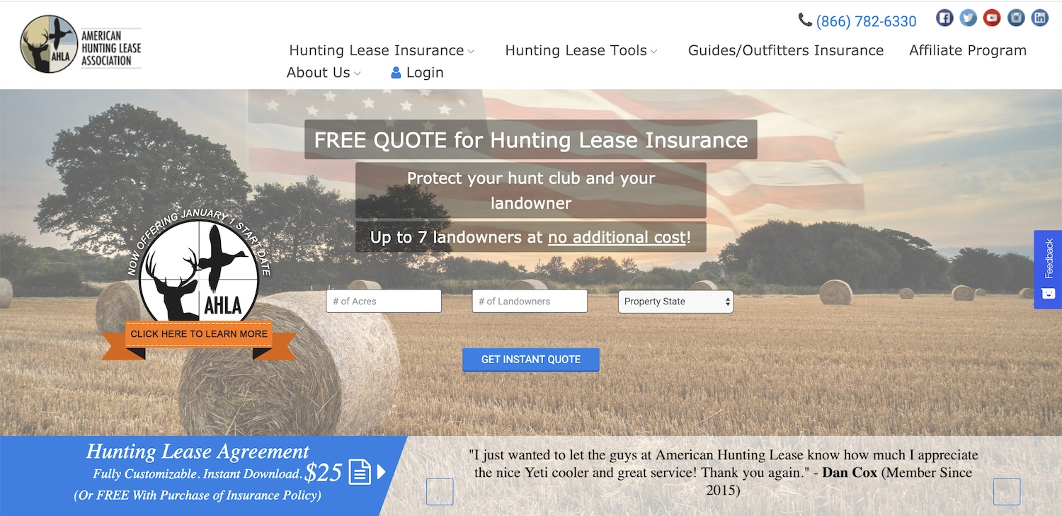 american hunting lease referral program