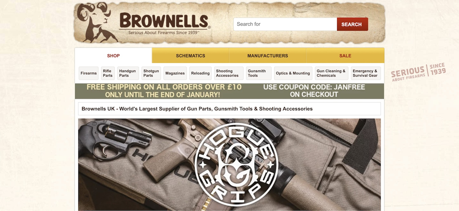brownells affiliate program