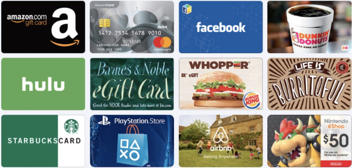 earnably gift cards