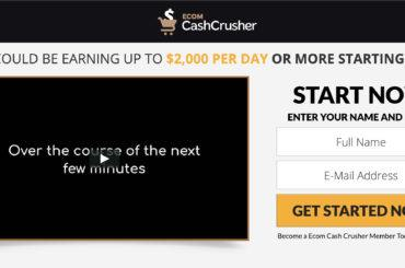 ecom cash crusher review