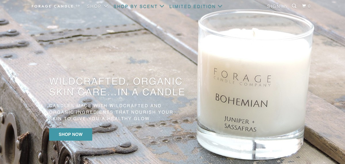 forage candle affiliate program