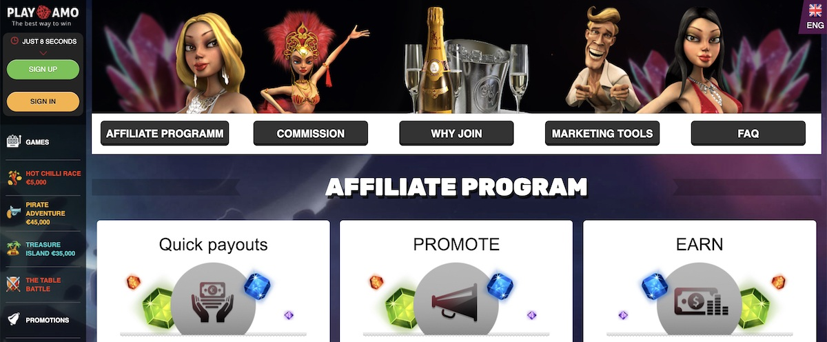playamo affiliate program