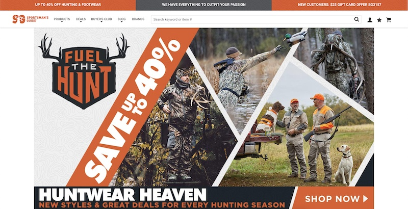 sportsman guide affiliate program