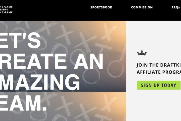 DraftKings Affiliates Program