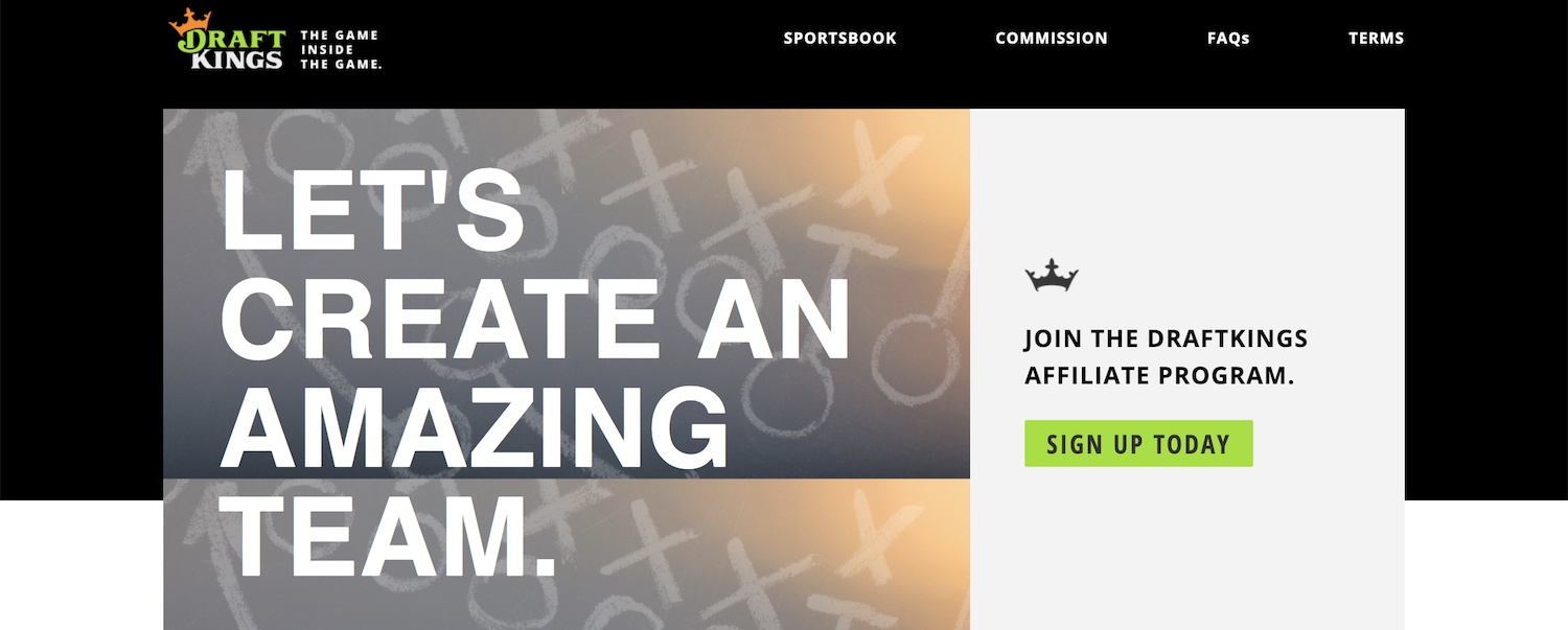 DraftKings Affiliates Program