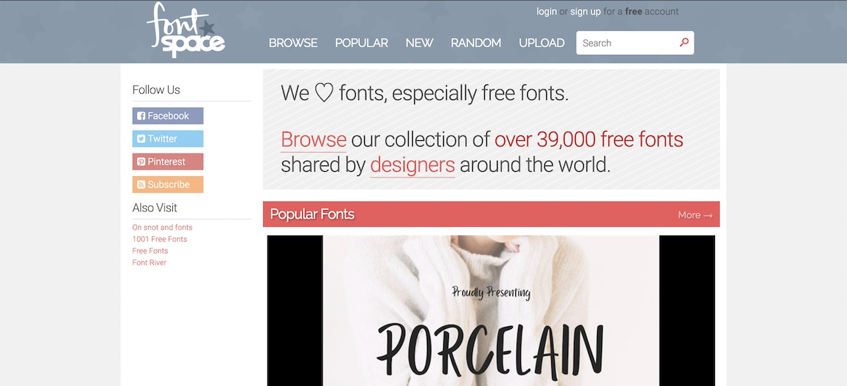 fontspace review