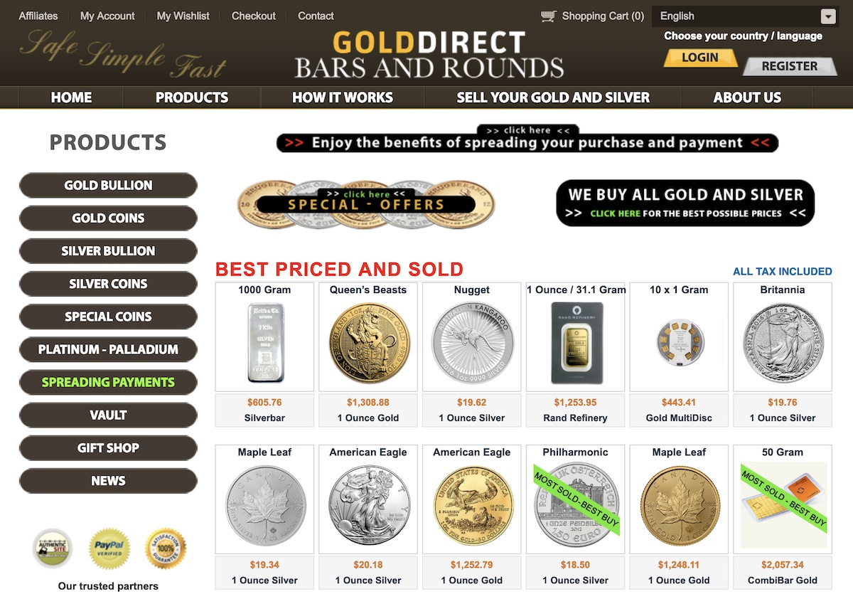 GoldDirectAffiliate Program