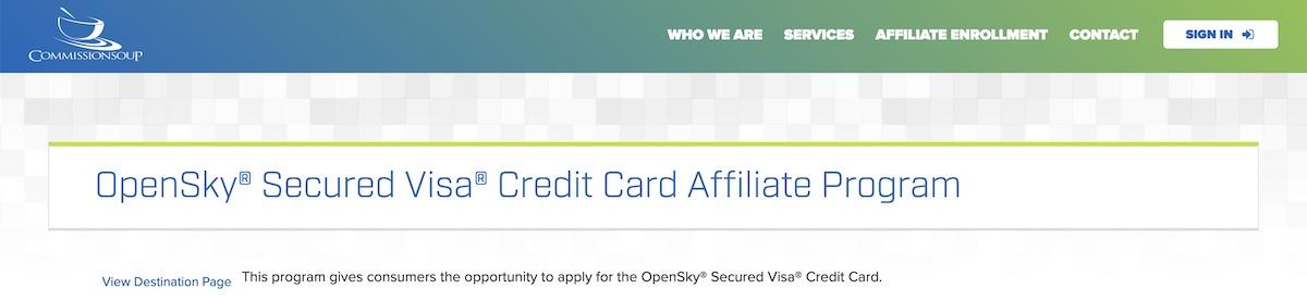 OpenSkyAffiliate Program