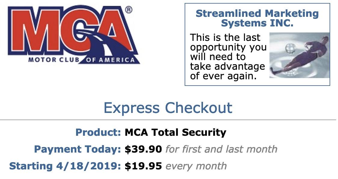 MCA Resources Pricing