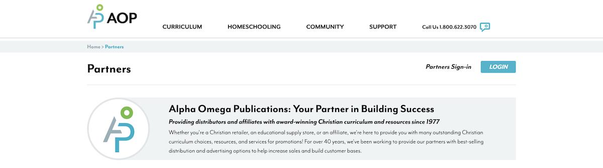alpha omega affiliate program