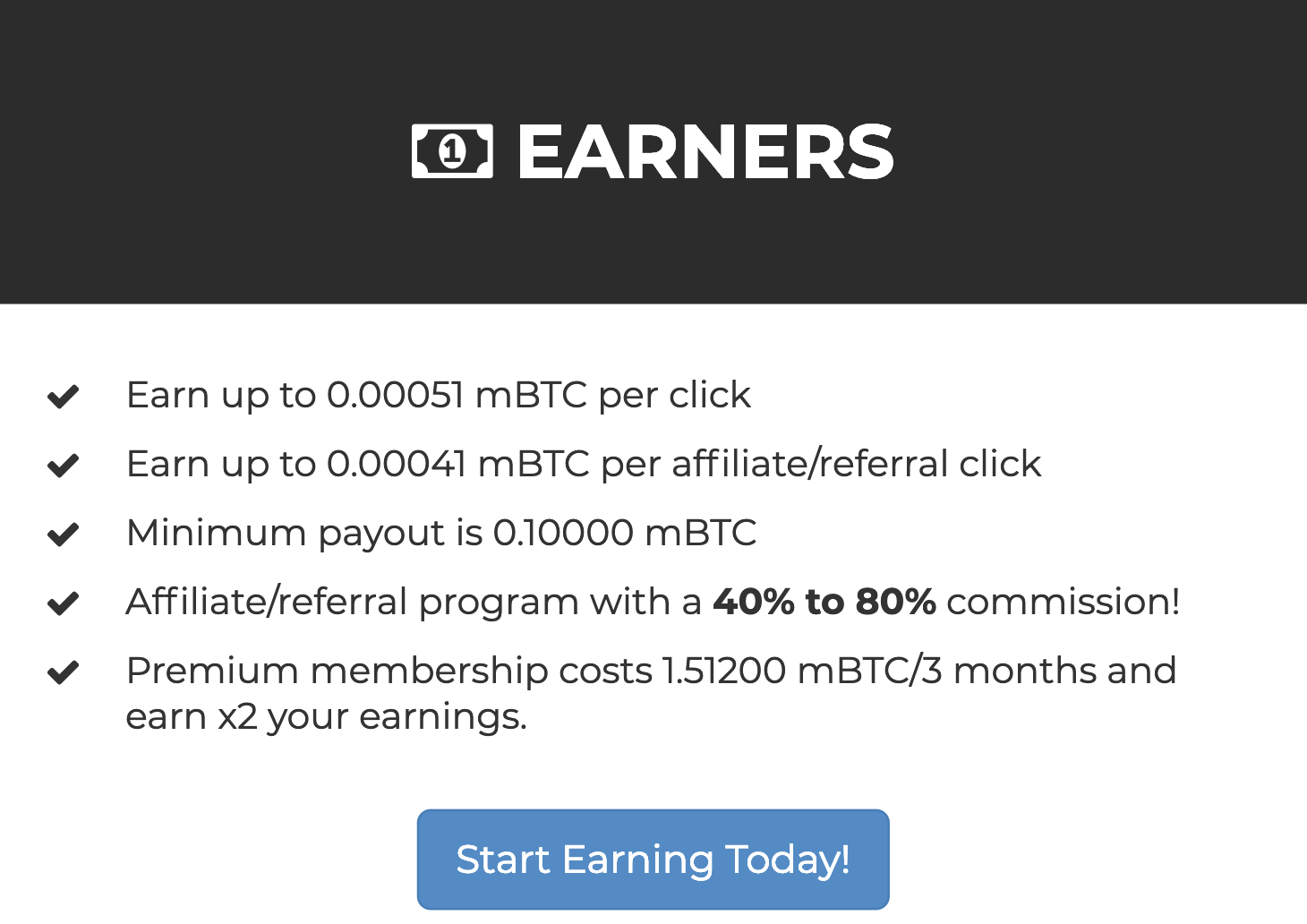 how to earn money with btc clicks