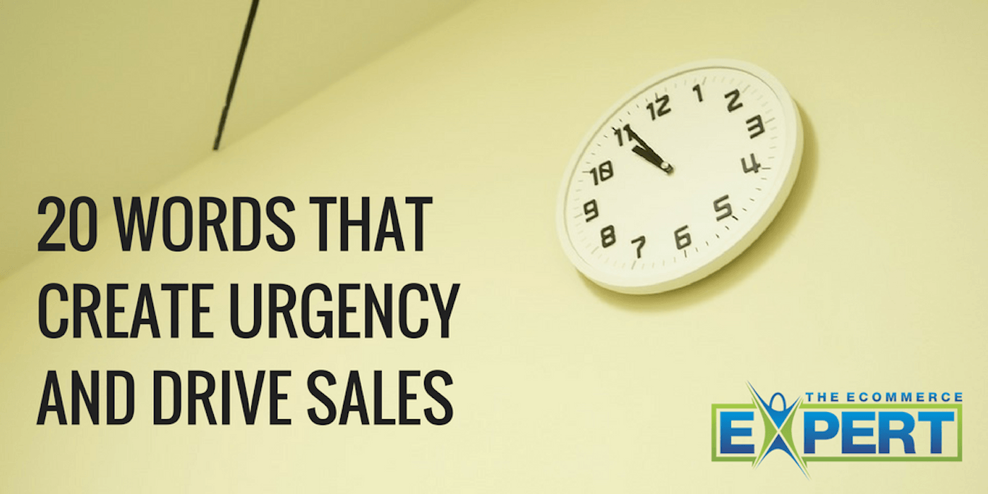 words that create urgency in marketing