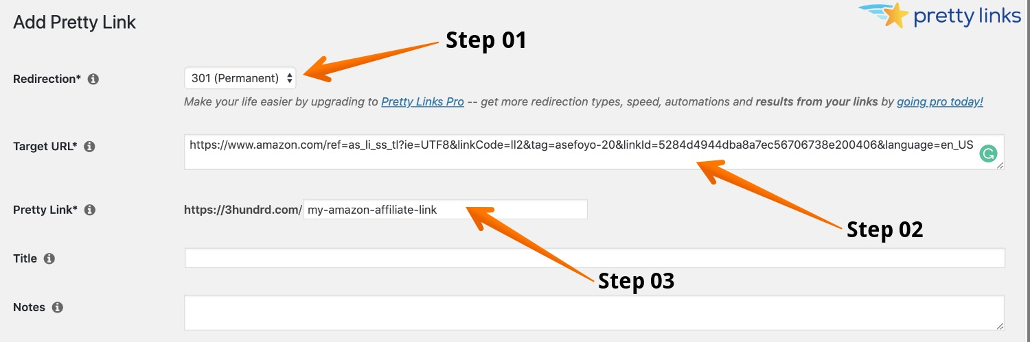 how to use amazon affiliate links