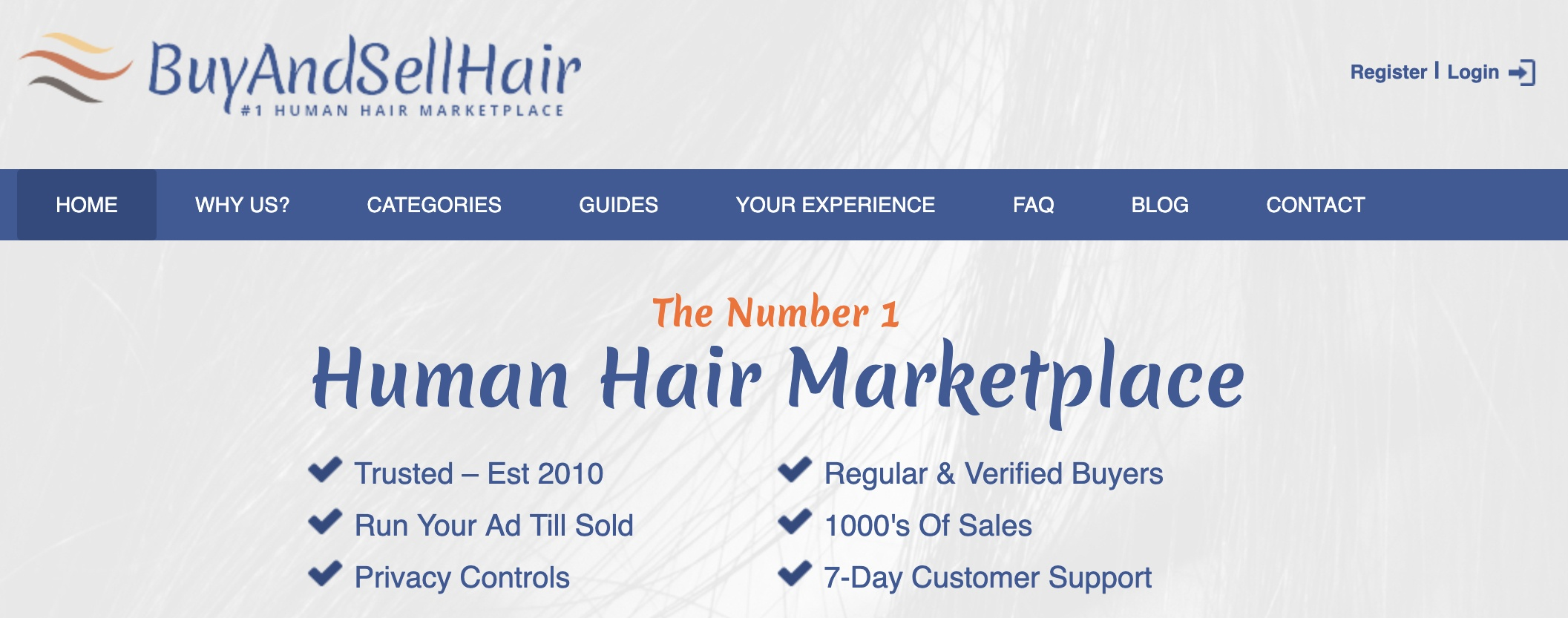 can you make money with buyandsellhair