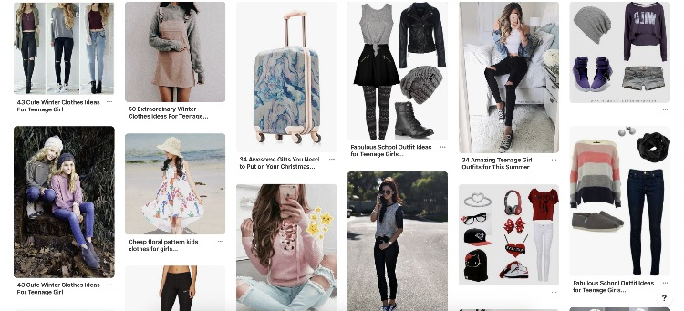 using Pinterest to promote your clothing brand