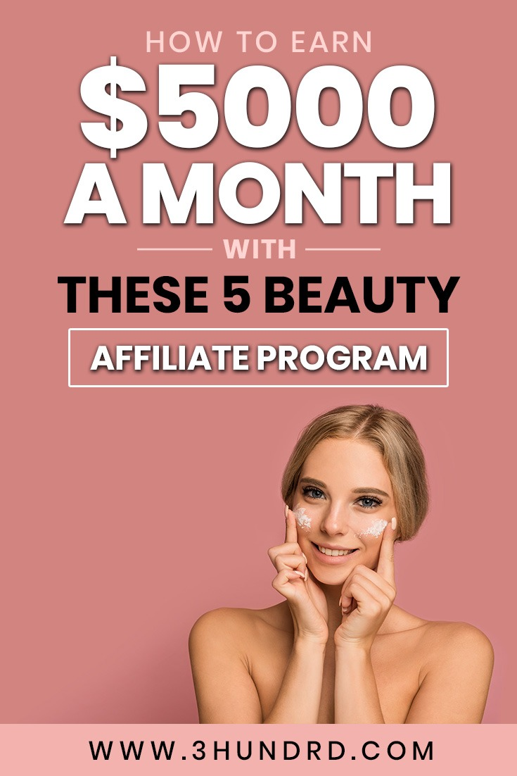 earn 5000 a month with your beauty blog