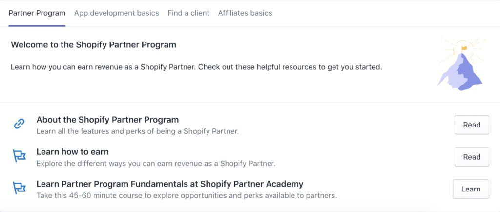 learn how to earn with the shopify affiliate program
