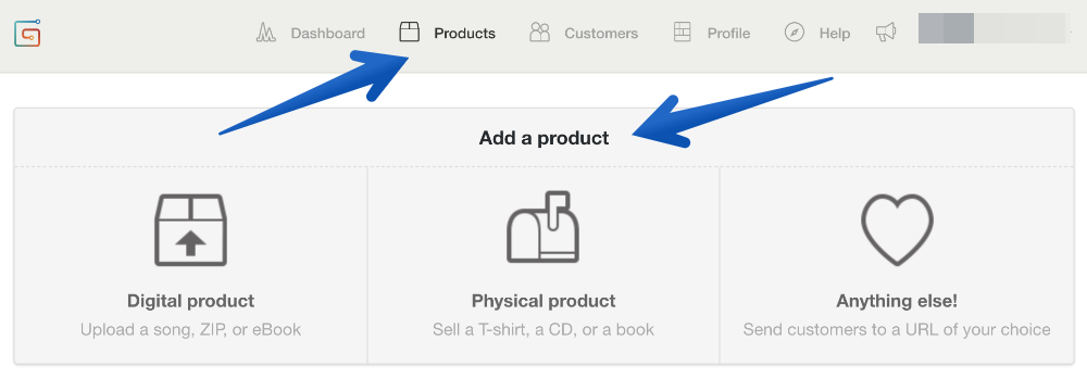 how to add a product to gumroad
