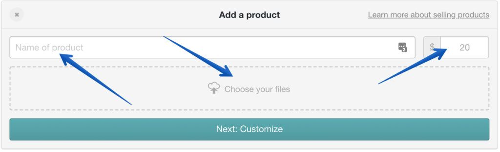 how to add a product to your gumroad