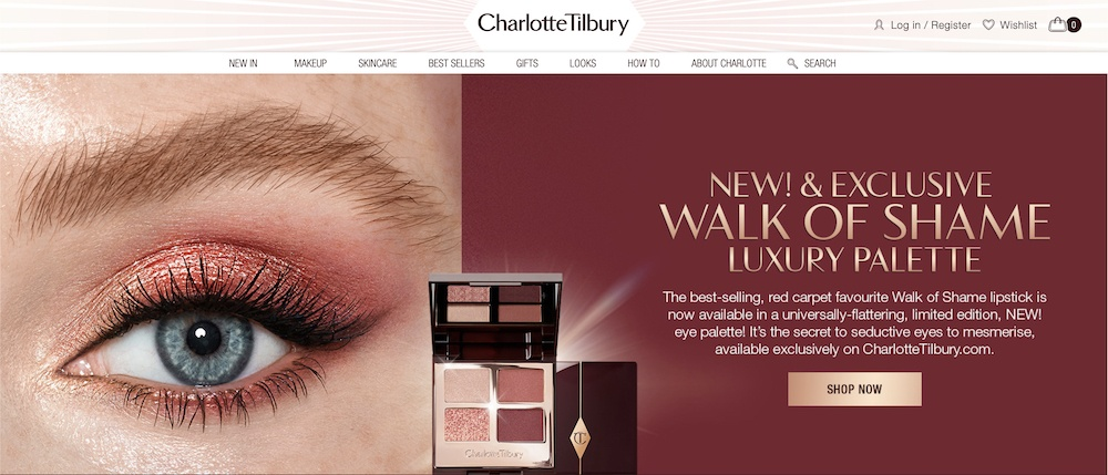 Charlotte Tilbury affiliate program