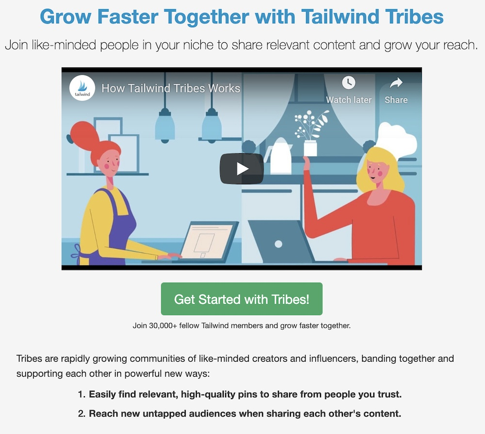 how to get started with tailwind tribes