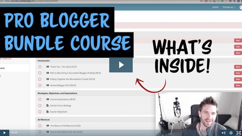 is the problogger bundle course a scam