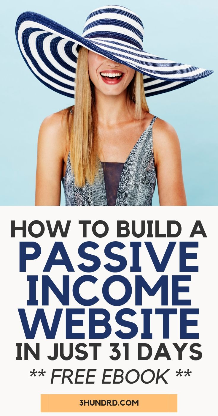How To Build A Successful Passive Income Website In Under 31 Days