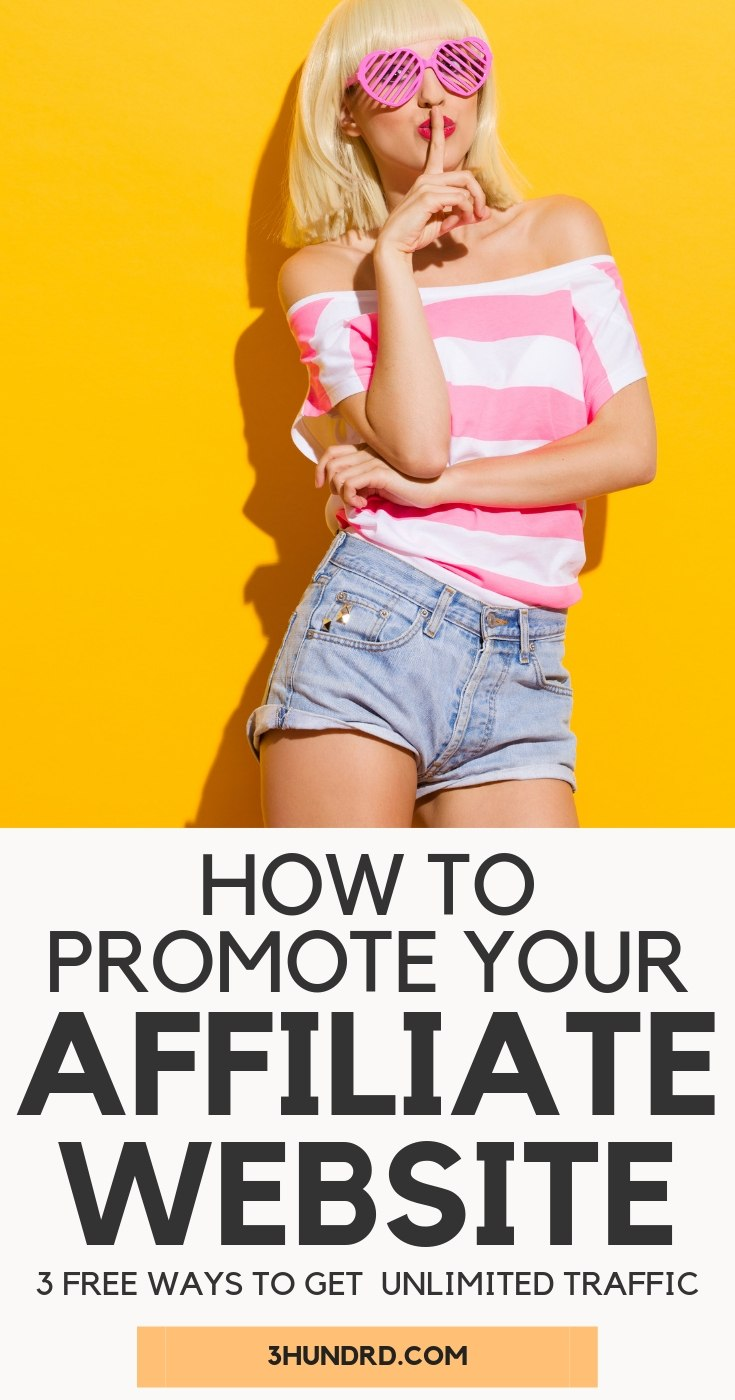 How To Promote Your Affiliate Website