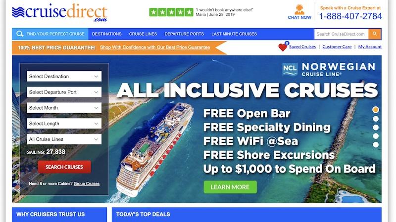 Cruise direct affiliate programs