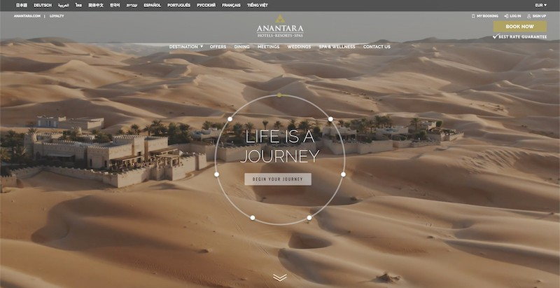anantara luxury hotels affiliate program