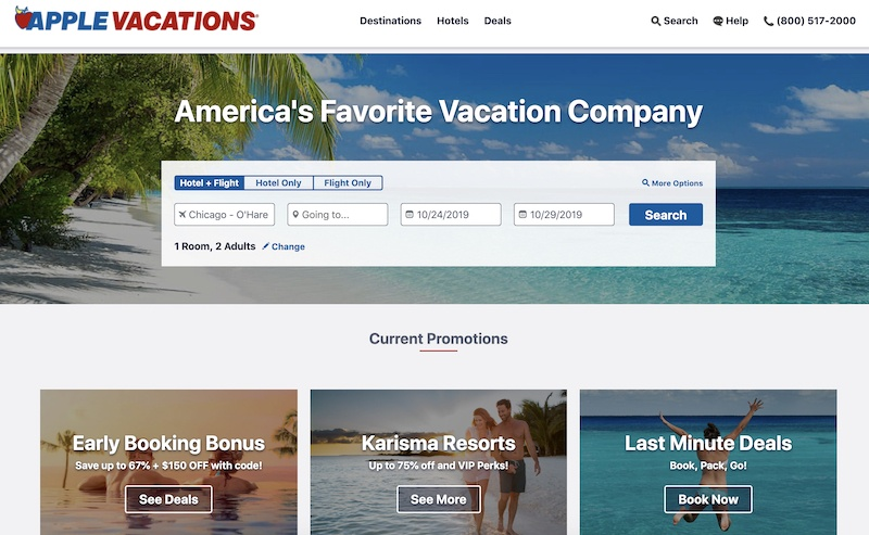 apple vacations affiliate program