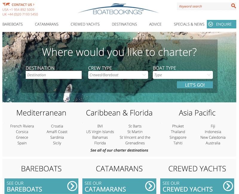 boat bookings affiliate programs