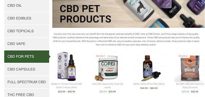 cbd choice pets