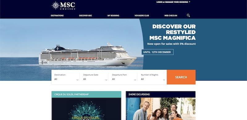 msc cruises affiliate program
