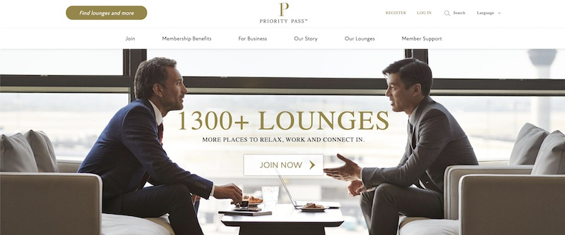 prioirty airport lounge affiliate programs
