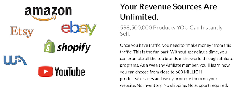 promote any product with wealthy affiliate