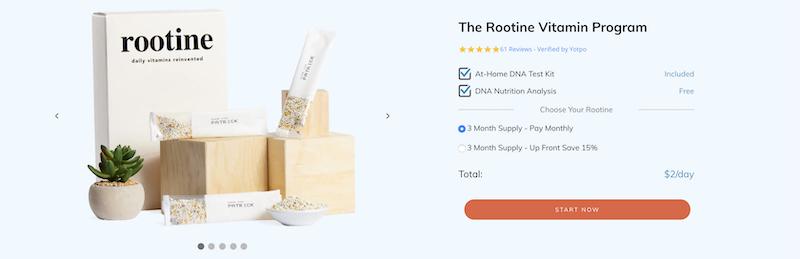rootine vitamins affiliate program