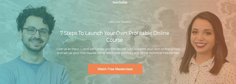 how to create a course with teachable live