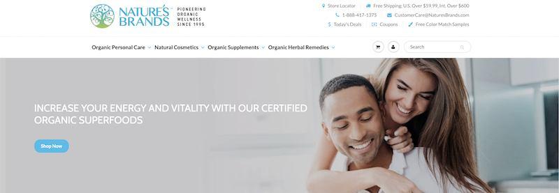 Nature's Brands affiliate programs