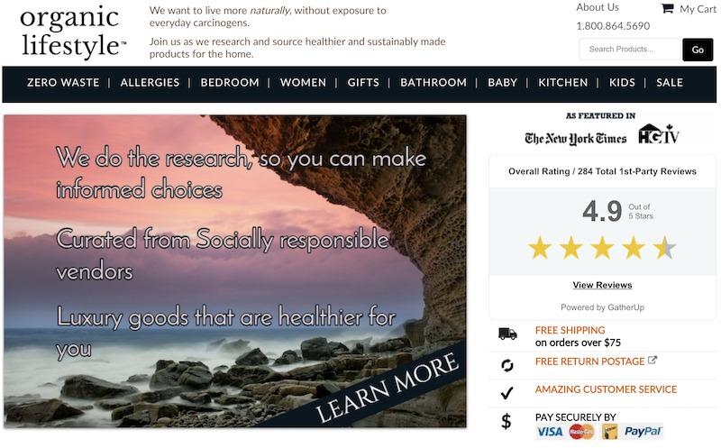 Organic Lifestyle affiliate programs