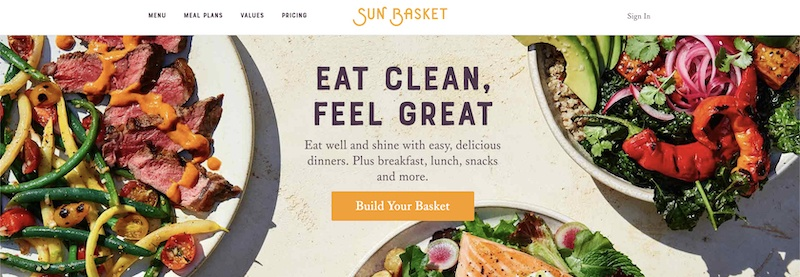Sun Basket affiliate program