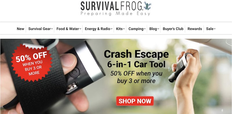 survival frog affiliate program