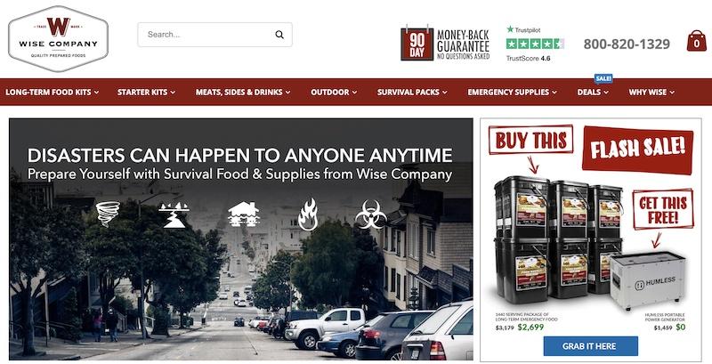 wise food storage affiliate program
