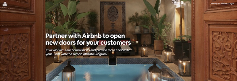 airbnb affiliate program review