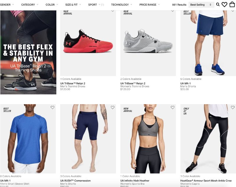 What Can You Sell As An Under Armour affiliate
