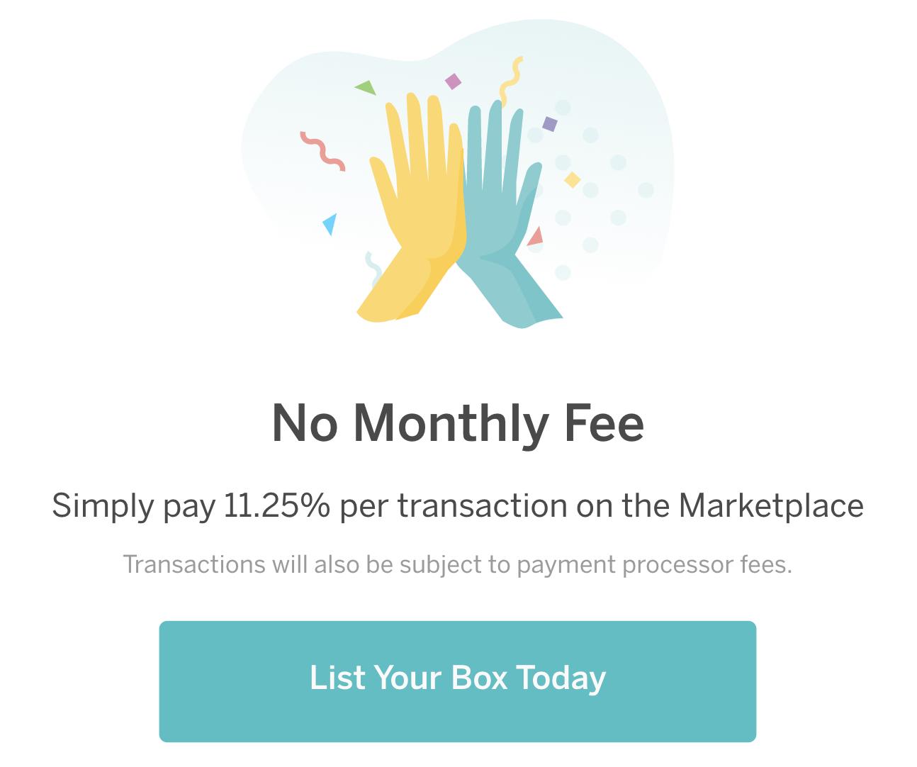 how much does it cost to sell on cratejoy