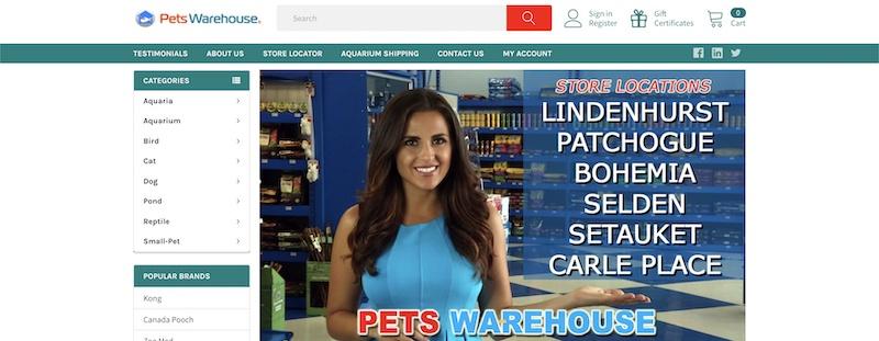 Pets Warehouse affiliate program